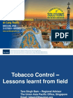 Tobacco Control (Part II)