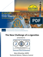 The New Challenges of e-Cigarettes