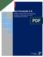 Análisis Discusión de La Gerencia 3T-14