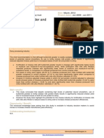 Buttermilk Powder and Cheese Yield 5980