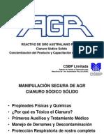 AGR NaCN Solids Training Spanish