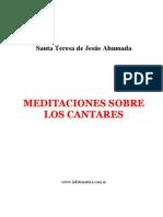 Meditaciones Sobre Cantares