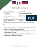 2015 Clinic Info