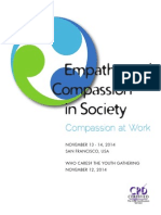 Empathy & Compassion in Society Conference 2014