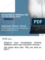 Introduction To NetBeans IDE