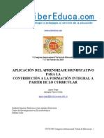 APLICACION DEL APRENDIZAJE SIGNIFICATIVO PARA LA CONTRIBUCION A LA FORMACION INTEGRAL APARTIR DE LO CURRICULAR.pdf