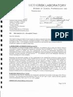 Joey Gareri, M.Sc. response to Dr. Chatterton witness statement