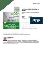 Excel 2010 Tablas Dinamicas en Practica