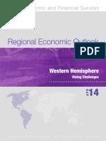 Regional Economic Outlook- Western Hemisphere (April 2014)