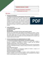 Fichas Resumen Politicas Sector Tumbes