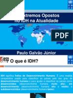 Os Extremos Opostos no IDH na atualidade