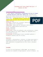 Curso Teatro e Resistência-Dramaturgia Dos Anos de Chumbo - Panorama Histórico 1968-1979. Módulo III. Promovido Pelo Núc