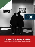 Convocatoria Galerie 2015