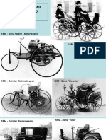 History of Mercedes Benz