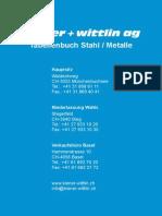 Tabellenbuch Stahlmetalle