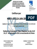 Diploma de Vacunacion