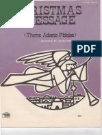 Partituras - Navidad - Adeste Fideles - Christmas Mesage -Piano(Variaciones) - Fordell.pdf