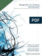 Monografia de Sulfatiazol