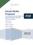 Molten Steel Social Media Proposal