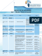 Programa II Foro Costarricense Virtual Utn