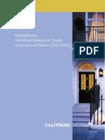 LutronTech Ref Guide Rev G 2008