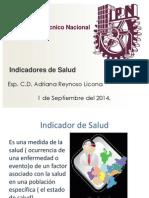 Indicadores de Salud.S.P.