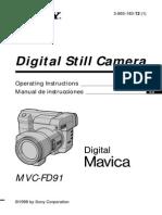 Sony Mvc Fd91