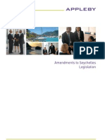 Amendments to Seychelles Legislation