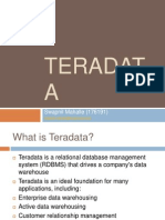 1.1 Teradata Architecture