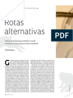 Rotas Alternativas Experimentação Animal - Revista Fapesb