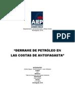 Derrame Petroleo Antofagasta Ok