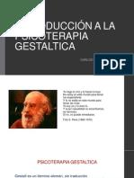 Introducción a La Psicoterapia Gestaltica (1)