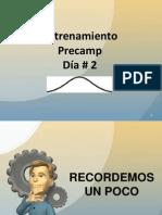 Curso de Precamp-Dia # 2
