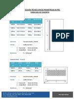 Especificación Técnica Cercos Perimétricos de Pre