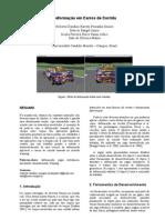 deformação em carros de corrida
