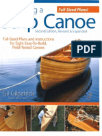 Building a Strip Canoe by Gil Gilpatrick 2010