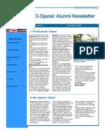 El Djazair Alumni Newsletter Dec2009