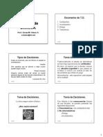 07 - Criterios de Decisión 1