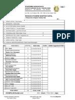 Form Pemeriksaan Hygiene Sanitasi Kapal