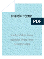 Drugs Delivery System