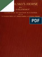ZALENSKII, V. v. Prjevalsky's Horse (Equus Prejewalskii Pol.) (1907)
