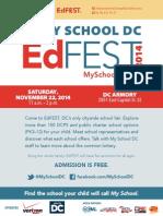EdFEST Flyer_8 5x11 (Spanish)