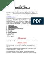 Alternate Dungeon Squad