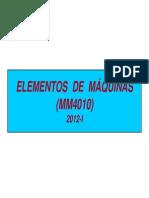 Semana 04 - 1 - Elementos de Máquinas ( Mm4010)