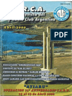 R.C.a. Revista Del Radio Club Argentino - Abril-2000 - PY3IDR