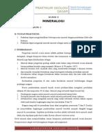 Materi II - Mineralogi