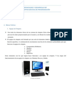 Definiciones y Desarrollo de Conceptos Bàsicos de Programaciòn