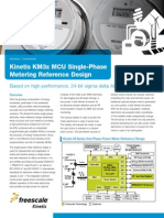 Kinetis KM3x MCU Single-Phase Metering Reference Design