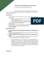 T Rmino Probatorio en El Juicio Ordinario de Mayor Cuantia (1)