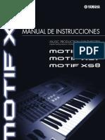 Manual Motif Xs